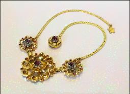 A tremendous excitement will certainly show when wearing  this high end necklace