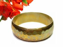 Comtemporary Hammered Bangle