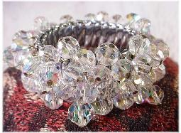 Cha Cha loaded crystal expansion bracelet