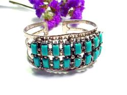 Southwestern Bangle Cuff Bracelet