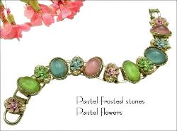 This would make an exceptional Easter Bracelet with its pastel colors, or a bracelet any spring time.