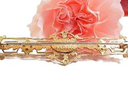 Miriam Haskell Cartouche Long Brooch