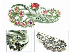 Antique Brooch, Wear it Longwise or Up & Down | c-clasp