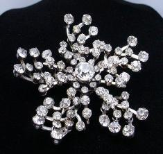 Juliana Vintage Wedding Brooch | Crystal Jewelry