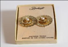 1959 Pearl Earrings