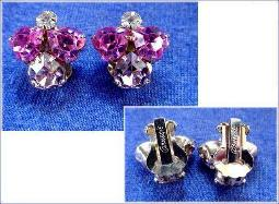 Carnegie Clip Earrings