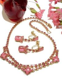 Demi Parure Necklace and Earring Set