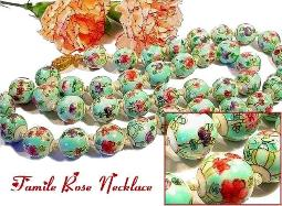 Chinese Famille-Rose Antique Jewelry