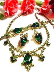 Juliana Grand Parure Necklace Bracelet Earrings