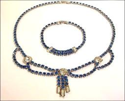 The Ultimate Blue That is Sure to Spice Up Any Look |Necklace Demi Parure