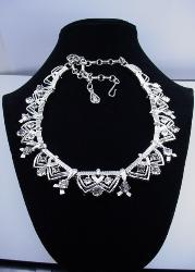 Coro Crystal Choker Necklace