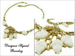 Vintage Jewelry Designer by Barclay
