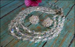 3 - Grand Strands of Crystal AB's suprising style
