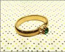 1940-1950 golden expandable bracelet