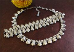 Designer signed Coro Vintage Necklace and Bracelet